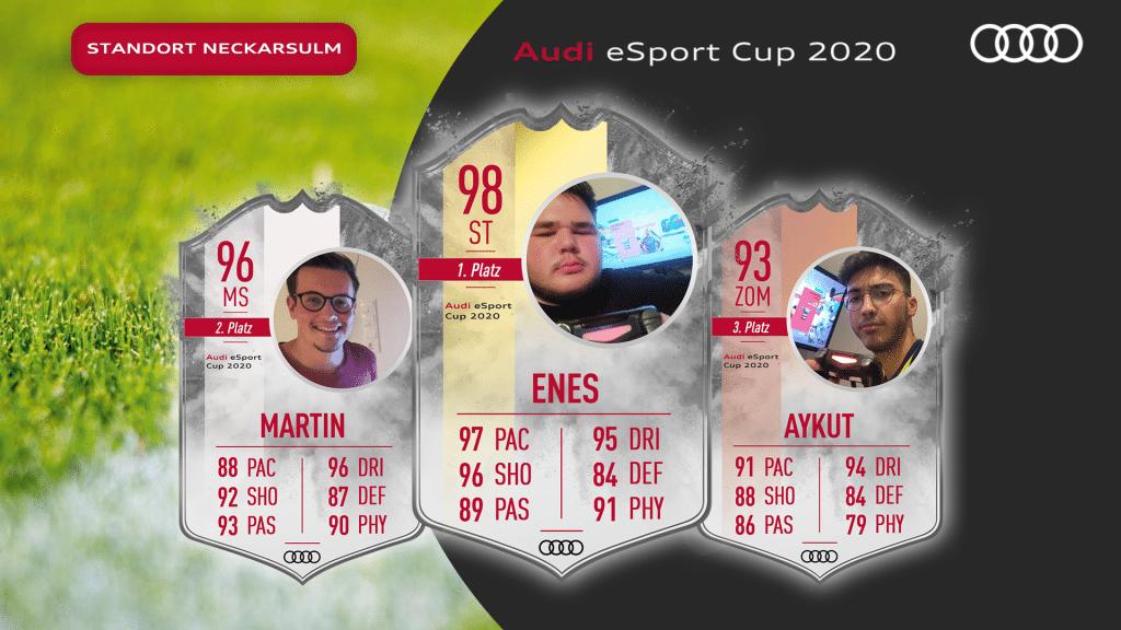 Audi eSport Cup - Neckarsulm